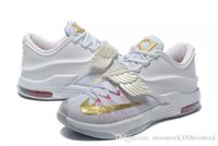 Wholesale Round Pearl Buttons - Mens Athletic Aunt Pearl Kevin Durant Casual Shoes KD VII EP KD 7 Sports Sneakers Shoes