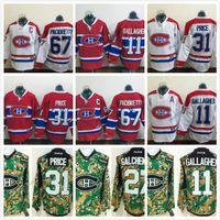 Ice Hockey Men Short Montreal Canadiens Jerseys Ice Hockey Winter Classic  11 Brendan Gallagher 27 Alex 258054fb7