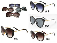 Wholesale Pearl Frames - 2017 woman sunglasses Brand lady luxury designer with box logo UV400 polarzing fashion sunglasses for woman pearl frame