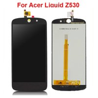Wholesale Lcd Screen Acer Liquid - Mobile Phone Accessories For Acer Liquid Z530 LCD Display with 5.0 inch Touch Screen Digitizer Assembly Replacement