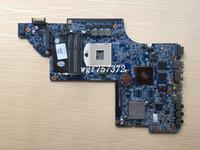 dv6 intel großhandel-Für HP DV6-6000 DV6T Laptop Hauptplatine 659149-001 HD6490M 1GB Intel s989 DDR3 Notebook Systemplatine