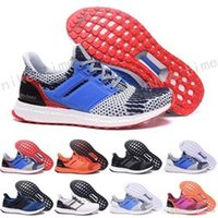 Wholesale Red Sea Lighting - 2017 Wholesale Online Ultra Boost 2017 Primeknit Deep Sea Blue Orange Grey Men Running Shoes Classic Ultra Boosts ultraboost Casual Sneaker