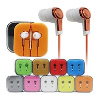 Wholesale Orange Smart Cell Phone - XIAOMI M5 Piston 3 Earphone Stereo Music Headset Metal Piston3 Headphone with Mic for Cell Phone Compatible with Any Smart Device