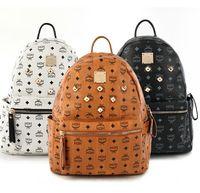 Wholesale hard laptops - Luxury brand women bag School Bags PU leather Fashion Famous designers backpack women travel bag backpacks laptop bag