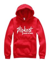 Wholesale Red Band Jacket - AAA ++ Autumn and winter new men 's hooded sweater live band Slipknot printed tide brand hedging jacket