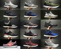 Wholesale New Arrival Shoes Winter - New Arrival Ultra BOOST 3.0 Multicolor Men Women Sneakers Ultraboost 3.0 Triple Black White Primeknit Oreo CNY Sports sneakers shoes 36-45