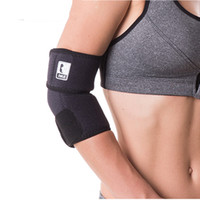 ingrosso badminton elbow pad-Elbow Pads Nuovo arrivo Professionale Elbow Brace Relief Regolabile Elastico Forte Sport Badminton Supporto Gomito Pad Protector WINMAX