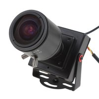 video el kitabı toptan satış-2.8-12mm Manuel Lens Mini HD 700TVL 1/3 CMOS Güvenlik Ses Video Renkli CCTV Kamera CCT_535