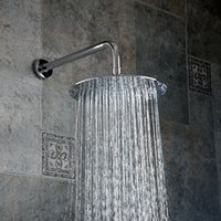 Wholesale High Pressure Rain Shower Head - Bathroom Rainfall High Pressure Rain Top Spray ABS Square Rain Top Spray Shower Head + Handheld Shower Head Bathroom With FS240
