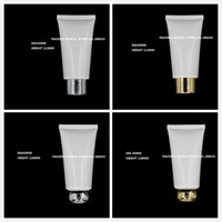 Wholesale Plastic Tubes For Creams - Wholesale- 50ml white soft tube for mildy wash butter handcream night cream mask cream anti-UV cream plastic tube cosmetic packing