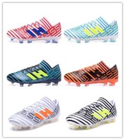Wholesale Male Football Shoes - New arrival NEMEZIZ 17.1 FG Men's Soccer Shoes Drop shipping High quality cheap Performance Male waterproof soccer cleats football boot