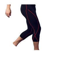 Wholesale Accessories Training - Fitness pants male basketball running training pants elastic compression movement tightly seven points