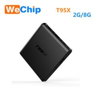 T95X Android TV-Box 2GB 8GB 2.4G Wifi Dolby 3D TV-Box Amlogic S905X HD Media Player