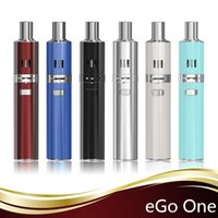 Wholesale E Cigs Joyetech Kits - Joyetech Ego One e-cigs starter kits Joyetech Hottest Electronic Cigarette Joyetech Ego One 2200mah black white free DHL