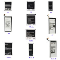 Wholesale Note2 Batteries - 2017 Cell Phone Battery For Samsung s3,s4,s5,s6,s7,Note2 3 4 5,s3 s4 mini,5830,9070,9082,Z1 2,G850,9100,BA900,7508,9150,BA800