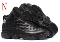 Vente en gros Retro 13 Hommes Black Cat 13s Playoffs Chicago DMP Bred Red Basketball Shoes vente chaude Il Got Game Flint Hyper Sneakers