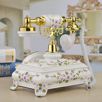 Wholesale New Model Telephone - new type of antique telephone european-style with antique office ancie creative villa call home phone model