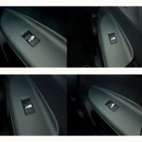 Wholesale Bmw E36 Carbon - New Car styling small Decorative Badge Hub caps Steering wheel case for E39 E36 E60 E90 E34 BMW E46 Car Emblem Sticker
