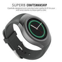 Wholesale S2 Silicon - Wholesale- Gear S2 Classic Band Silicon Watch Band Strap For Samsung Galaxy Gear S2 SM R720 Strap Band Bracelet