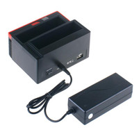 Wholesale hard disk dock ide sata for sale - Group buy PCAccessories Docking Station Trip Lo Hard Disk USB Multi Fun Zion E Card SATA IDE