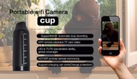 720P mini telecamera WIFI Cap IP Camera con batteria 15000mAh p2p Camcorder Bottle Cam CCTV Security Monitor