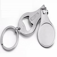 Wholesale Personalized Gifts For Wedding Customized Wedding Nail Clippers Bottle opener Wine Opener with key chain Party Favors