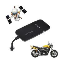 gps gsm vehículo moto tracker al por mayor-Ortable GT02A Mini GPS Cuatribanda GPS GSM GPRS Rastreo SMS Monitor de bicicleta de motocicleta en tiempo real para vehículo