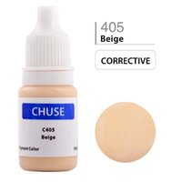 Wholesale CHUSE Permanent Makeup Ink Corrector Tattoo Ink Set Microblading Pigment for Professional Maquiagem Definitiva ML Beige C405