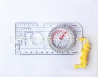 Outdoor Camping Direccional Cross-country Race Caminhada Special Compass <b>Baseplate Ruler Map</b> Scale Compass Bussola