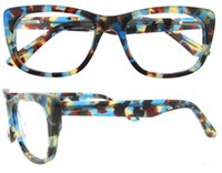 Wholesale Frame Collections - Valentine's Day Collection Fashion-Forward Sunglass Style Cat-Eye Acetate Full Rim Eyewear Frame Women Optical Eyeglasses Frame