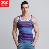 All'ingrosso-Summer Style Top Undercles Undershirts Marca XUBA Sleeveless Undersirts per maschio Bodybuilding Top