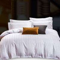 Wholesale White Twin Sheets - Hotel bedding pure color simple 1.5 m 1.8 m bed sheets 4 sets of cotton can be used in four seasons