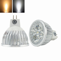 Vente en gros- LED Mr16 4w Ampoules LED Bi-pin Gu5.3 Spot Light 12 Volts 50w Refroidissement halogène