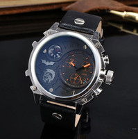 Wholesale White Watch Compass - New Arrival Famous Brand Modern Mens Luxury watches With Compass Automatic Date Leather band Quartz Wrist Watch For man male Reloj Hombre