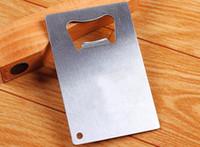 визитные карточки размера оптовых-Персонализированные Кредитные Карты Размера Открывалка Для Бутылок Визитная Карточка Открывалка Для Бутылок