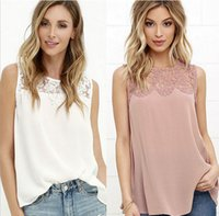 Solid Lace Paneled Stickerei Flora Printed Sheer See Durch Tanks Chic Hollow Out Backless Ärmellos Camis Mode Frauen Sommer Tops