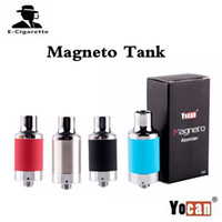 Wholesale 100 Original Yocan Magneto Tank Wax Atomizer with Ceramic Coil Fit Yocan Magneto Kit VS NYX Atomizer