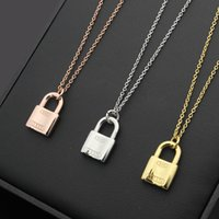 Wholesale Gold Key Necklaces For Women - key necklaces & pendants Jewelry wholesale fashion jewelry new design Stainless Steel Jewelry For Woman