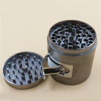 Wholesale Machining Zinc - Large Side Opening Grinder 63mm 4 Layers Metal Grinder Machine Zinc Alloy Herb Grinders 4 Stage Tobacco Grinders Wholesaler