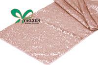 Wholesale Wholesale Sequins Table Runner - Hot Sale Sequin Table Runner \ Wedding Table Cloth Runner Decoration