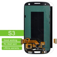 Nuovi pannelli LCD per Samsung Galaxy S3 I9300 I9305 I745 I535 T999 Display LCD Touch Screen Digitizer Assembly