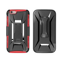 2017 X Forme Shockproof Hybride Rugged Defender Armor Case Kickstand + Étui pivotant Clip Holster pour iphone Samsung LG Huawei ipad 100pc