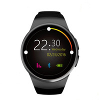Wholesale Answer Gear - KW18 Bluetooth smart watches full screen Support SIM TF Card Smartwatch Phone Heart Rate for apple gear s2 huawei