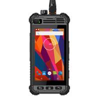 telefone de tv analógico quad core venda por atacado-Original Runbo M1 smartphone Conector Magnético Andriod 5.1 À Prova D 'Água IP67 LTE Telefone Robusto 3.2 Watts de Saída de Rádio de Dois Sentidos Analógico NFC