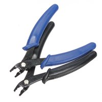 Wholesale Jewellery Making Tools Wholesale - Wholesale- Best Promotion 5.25 Split Ring Plier Opening Jewellery Making Beading Tool Pliers Tools Craft 2 Colors Black Blue