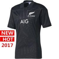 Wholesale Maroon T Shirts - big size 4xl 5xl Newest New Zealand All Black Welsh holden nswrl t Shirt 2017 Maori All Blacks jerseys QLD Maroons Rugby jersey