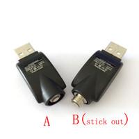 ingrosso adattatore filettatura ego-CE3 O-Pen Caricabatterie USB senza fili USB Sigarette USB Caricatore Vape adattatore per eGo 510 Discussione Bud Touch CE3 Batteria Vape Pen
