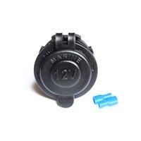 Wholesale Receptacle Socket - Waterproof Marine Motorcycle ATV Rv Lighter Socket Power Outlet Socket Receptacle 12v Plug