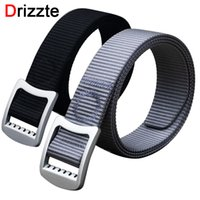 Belts black nylon web belt - Drizzte Men s Plus Size cm Nylon Web Belt Free Adjust Metal Buckle Dress Casual Fashion Mens Wait Belt Black Siver