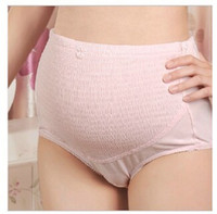 Wholesale Wholesale Maternity Plus Sizes - Maternity briefs Panties underwear Pregnant belly Maternity Intimates Adjustable Cotton spandex Maternity Supplies 2017 hotsale Plus size